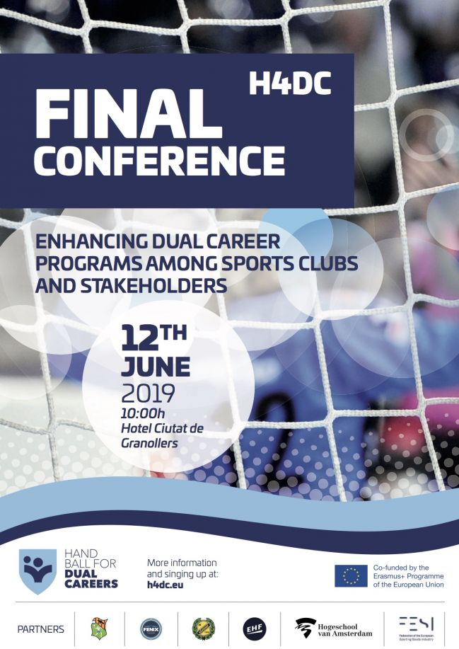 "Conferencia Final ""Handball 4 Dual Careers"""